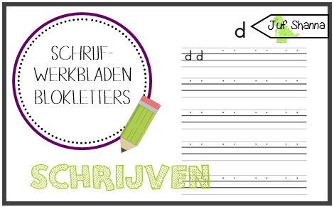 Blokletters Archieven - Juf Shanna