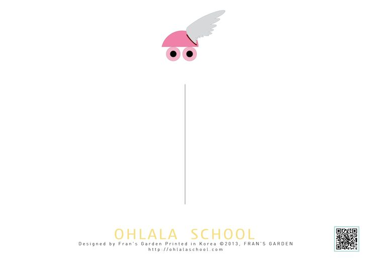 Ohlala School Postcard ~ :D