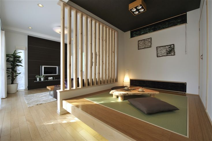 If I could build my own house, I would put a tatami room in there! I like this idea.