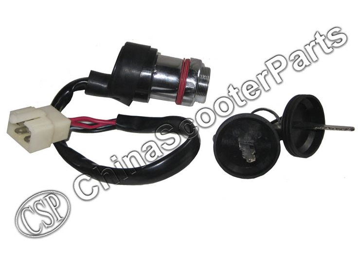 Contactslot Lock 4 Draden voor Linhai 250 250cc 260 260cc 300 300cc 400 400cc ATV UTV
