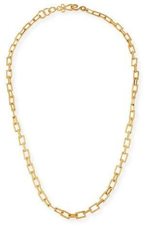 """Stephanie Kantis Spear 24K Gold-Plated Chain Necklace, 36"""""""