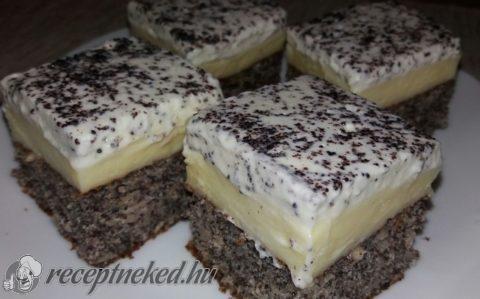 Mákos krémes recept fotóval