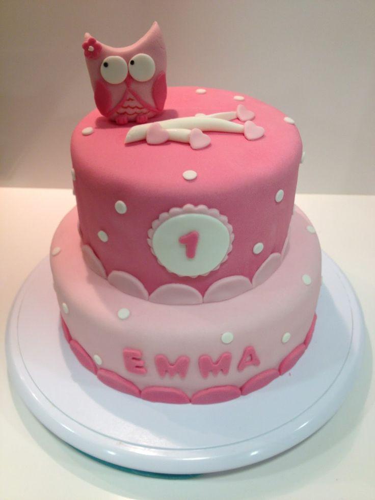 Emma's Cupcakes: Owl cake / pastel buho