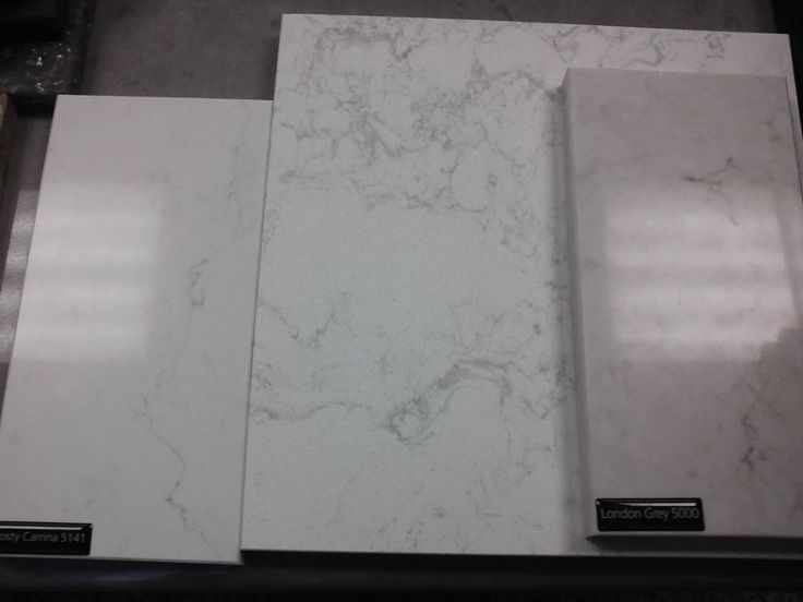 Caesarstone Frosty Carrina In Person The Frosty Carrina Has More Of A White Undertone