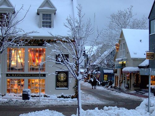 "coffee-and-wood: "" Winter in New England. """