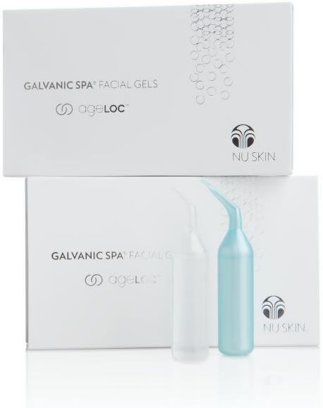 Galvanic Spa Facial Gels with ageLOC (3 boxes)