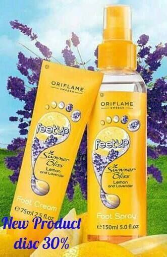 Foot Spray n Foot Cream utk yang sering beraktifitas menggunakan sepatu atau sering berada di cuaca panas