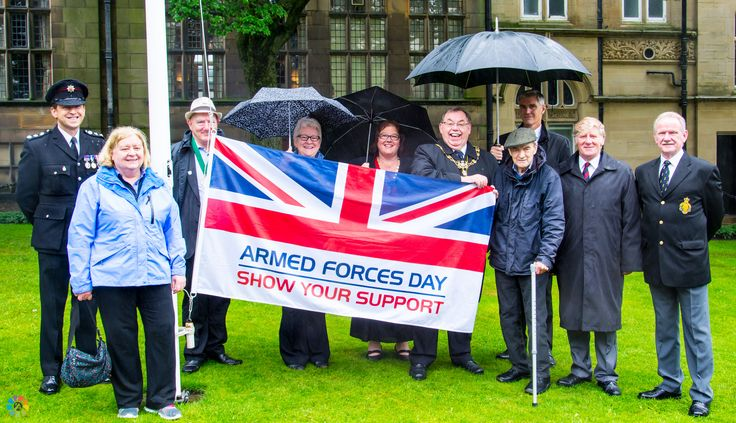 https://flic.kr/s/aHskyBDNUi | Armed Forces Day 2016 Flag Raising Ceremony | Photos from the flag raising ceremony for Armed Forces Day 2016, which took place on Monday 20th June in Glossop's Norfolk Square