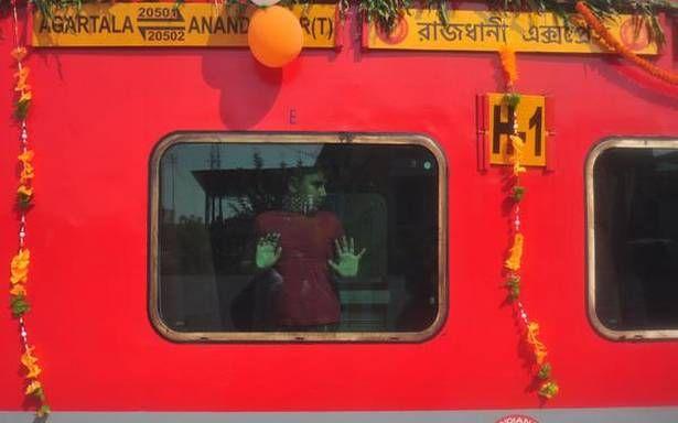Agartala finally gets Rajdhani Express - The Hindu #757Live