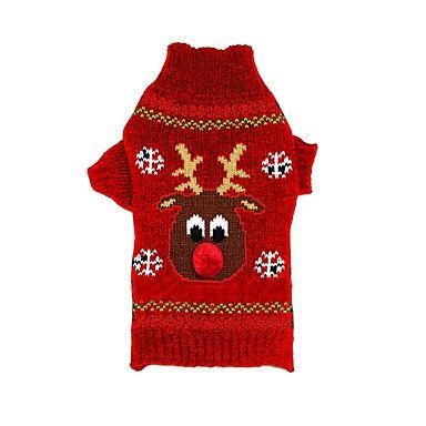 Gatti Cani Maglioni Abbigliamento per cani Inverno Renna Natale Capodanno Nero Rosso del 5378831 2017 a €13.99