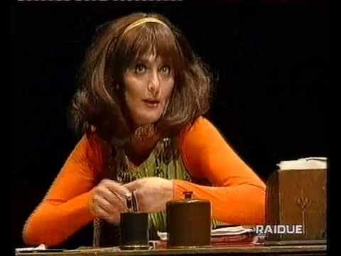 Anna Marchesini - Parlano Da Sole (Spettacolo Completo) 1998 - YouTube