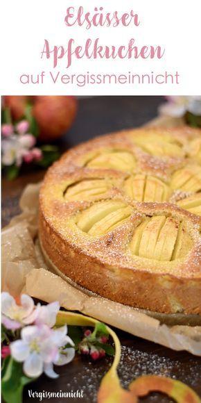 Ein absoluter Klassiker Elsässer Apfelkuchen oder manchmal auch Apfeltorte genannt. Das Rezept für den Kuchen gibt es auf dem Blog.