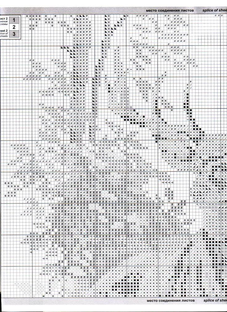 Deer cross stitch 3