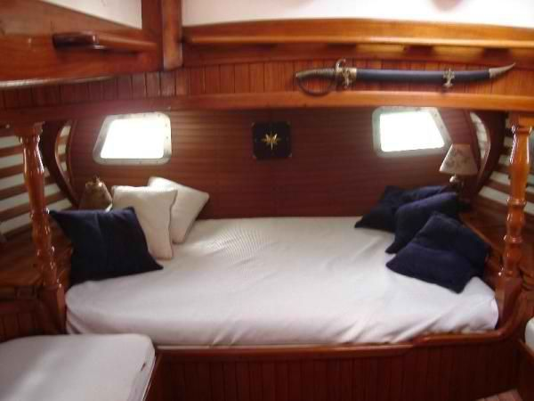 Who's sleeping on a boat tonight? (Owner's cabin, Formosa 51)