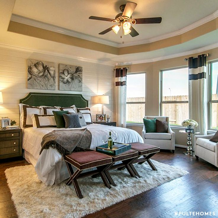 Enjoy relaxing in your Master Suite