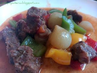 Beef pepperpot  Paprykarz wołowy