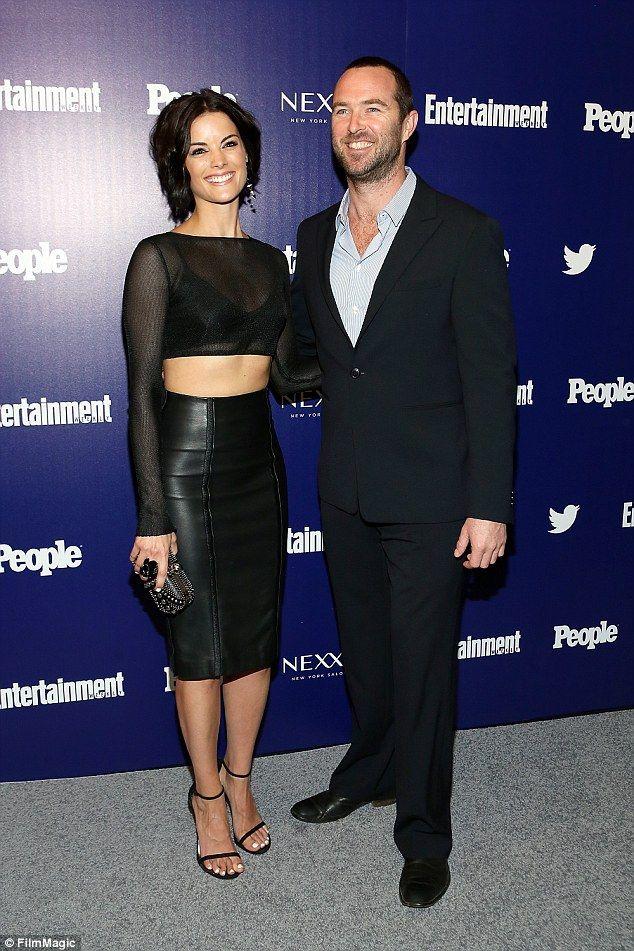 Jamie Alexander (Jane) and Sullivan Stapleton (Agent Kurt Weller) on Blindspot tv series.