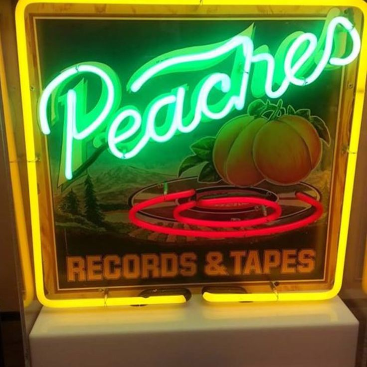 1000 Images About Peaches Records And Tapes On Pinterest
