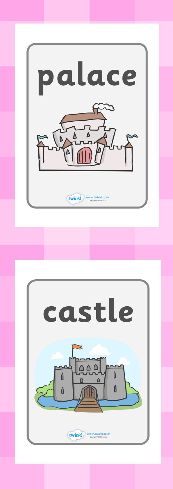 Twinkl Resources Castles and Knights Display Posters Thousands of printable primary teaching resources for EYFS, KS1, KS2 and beyond! knights, castles, display, banner, poster, castles and knights, maiden, castle, tower, dragon, sword, horse, flag, shield, dungeon,