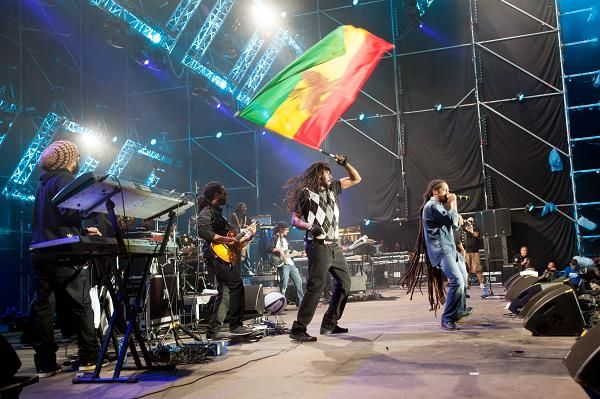 Damian Marley, Kostrzyn 2012