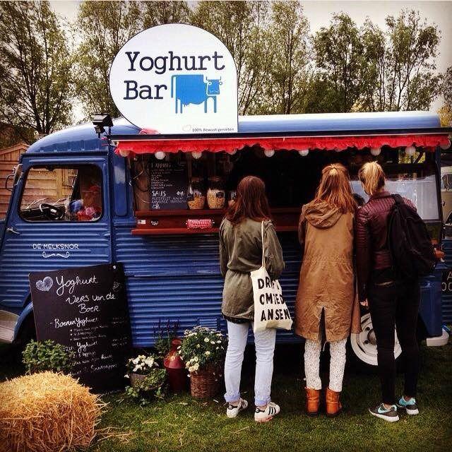 De Melksnor - Yoghurt Bar  Kijkje in de keuken bij deze food truck! #foodtruck #melksnor