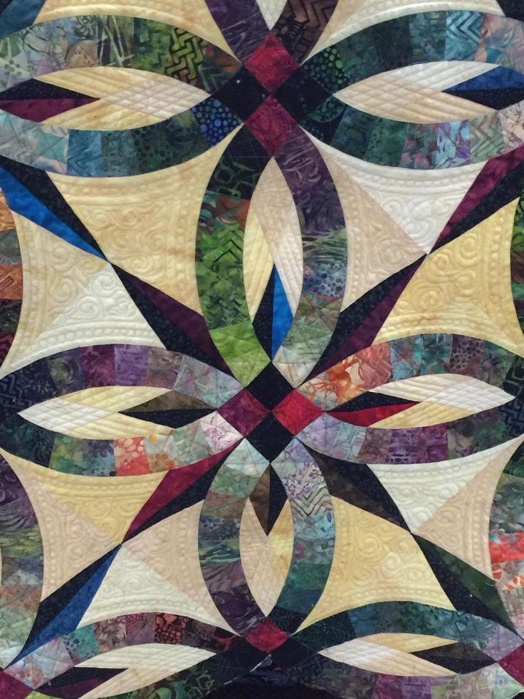 Judy Niemeyer Bali Wedding Star - Quilt Pictures, Patterns & Inspiration... - APQS Forums