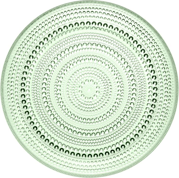 Iittala - Kastehelmi Plate 248 mm apple green - Iittala.com