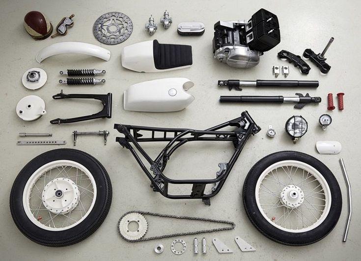 custom cafe racer parts   sugakiya motor