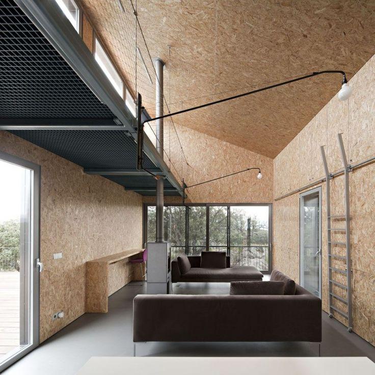 Plafond en OSB