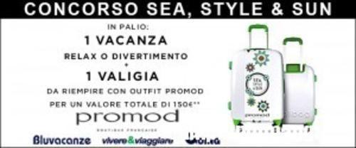BuoniSconto: #Vinci una #vacanza  e una valigia piena di abiti Promod (link: http://ift.tt/1TU2Zpm )