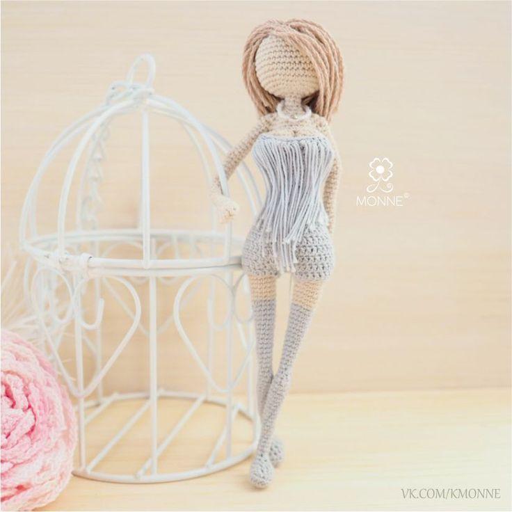 Купить Леди Дождя - кукла, крючком, амигуруми, тело, фигура, дождь, девушка, каркасная, стройная