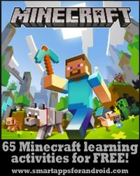 Free Minecraft activities and ideas for teaching reading, writing, and math.