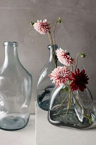 gorgeous pinched glass vases #anthroregistry  http://rstyle.me/n/ru362pdpe