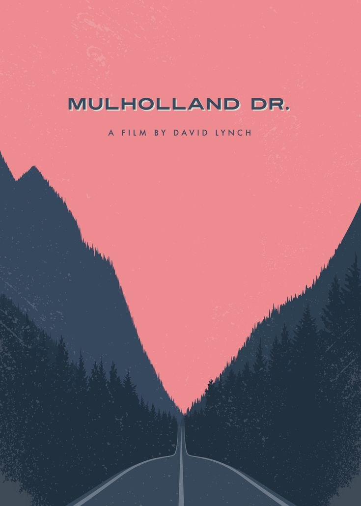 Day 158 of 365 – Mulholland Drive. #amovieposteraday