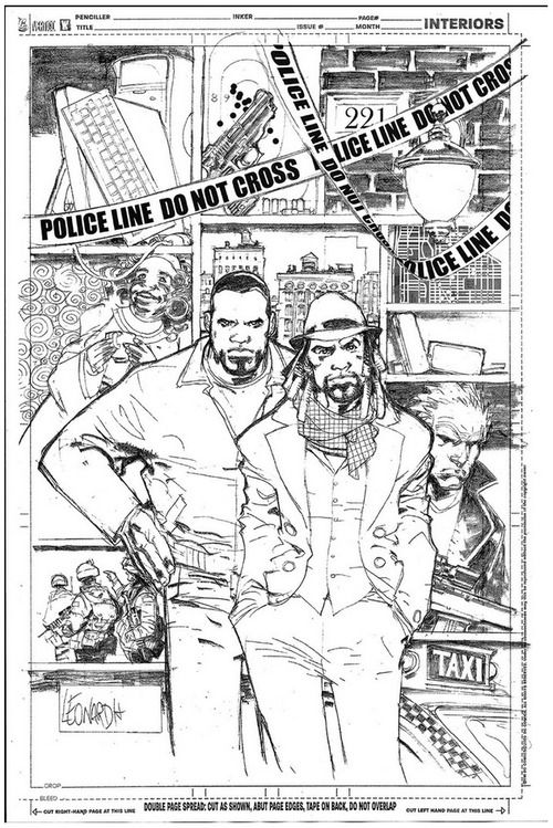Watson and Holmes, An African-American Sherlock Holmes Comic Book Series Set in Harlem, NYC