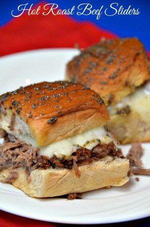 These Leftover Roast Beef Sliders were made using my leftover slow cooker roast beef. It is truly a easy and delicious way to use your leftover roast beef.