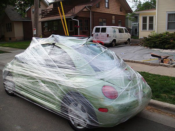 10 Hilarious Car Pranks You Can Do - try this one on your annoying siblings! #lol #spon