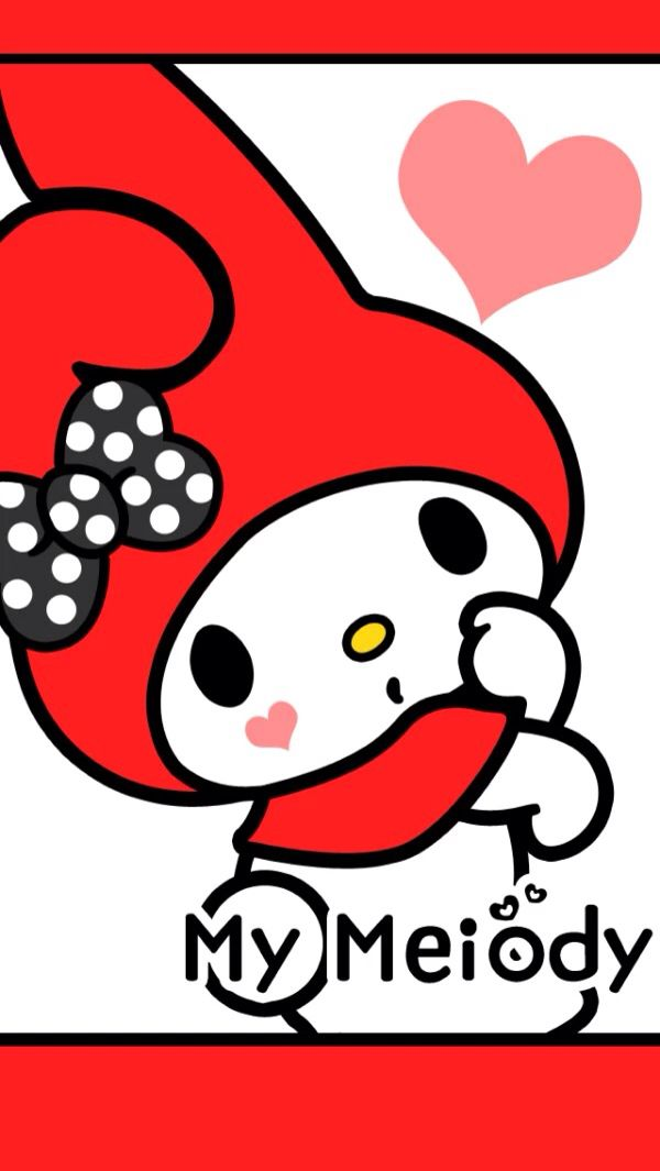 cartoon character Love Wallpaper : 521 best images about paper on Pinterest My melody, iPhone wallpapers and Kandi