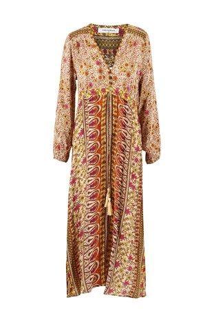 Tan Print Kjole fra ChillNorway - Lange kjoler