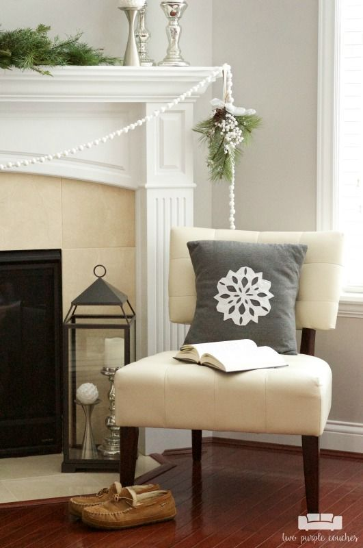 winter home tour home improvements pinterest decorating rh pinterest com
