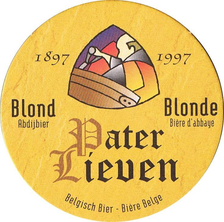Pater Lieven - Blond Belgium Beer