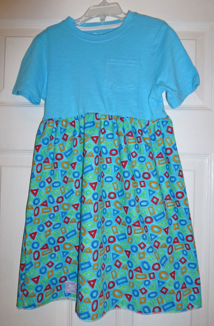 Dress A Girl Around the World Program. Pattern directions: Sew Delightful: T-Shirt Dresses