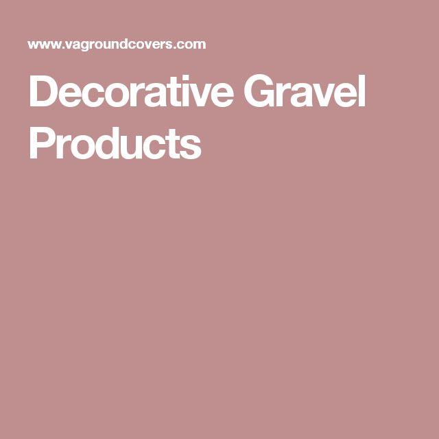 Decorative Gravel Products