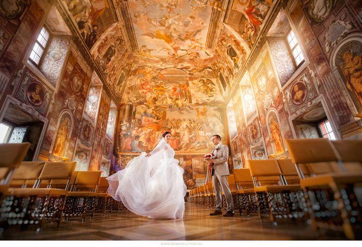 свадьба Тройский замок чехия прага свадебная церемония фотосессияTrojský zámek svatba wedding photo