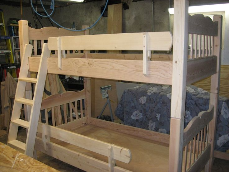 Bunk Bed Rail Guard Kids Rooms And Style Pinterest