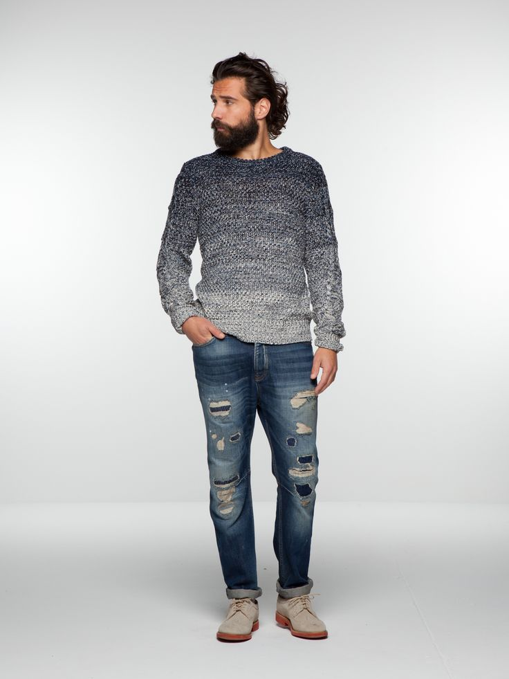 Knitted pullover | Pullover | Men's Clothing at Scotch & Soda