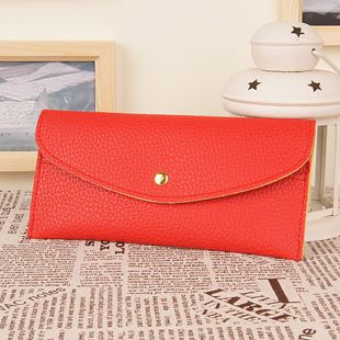 2013 Long design women's wallet multi card holder card  12 colors wholesale price $3.99
