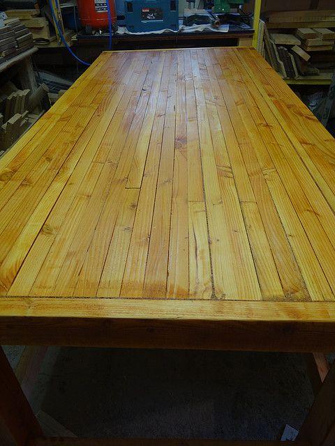 construction d 39 un tabli en bois toutes les tapes en photos construire un tabli en bois. Black Bedroom Furniture Sets. Home Design Ideas