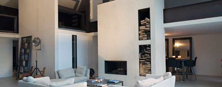 HQE, Cible 4, maison HQE, ciments, parement interieur, béton coloré, voile beton - CEMEX Beton France