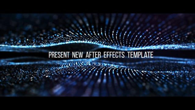 Get this here: https://motionarray.com/after-effects-templates/titles-trailer-22280  The Titles Trailer template is an awesome title sequence that is based on abstract background particles and camera depth. It is very versatile and is suitable for many of your tasks. It includes 10 editable text holders. You can also change color of the text and the color of the background. Just add your text,and hit render. Version with plugin Trapcode Particular included. Create your next beautiful titles…